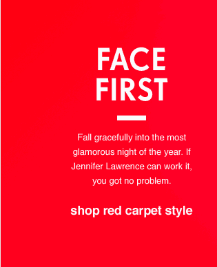 Shop red carpet style
