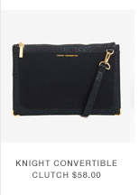 Knight Convertible Clutch