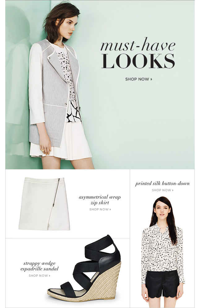 Must-Have Looks For March