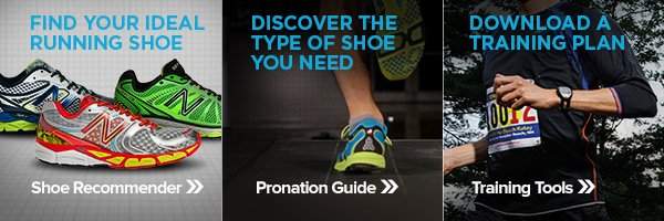Our online tools can coach you through finding what you need at newbalance.com