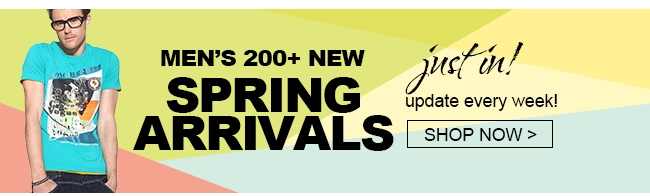 MEN'S 200+NEW SPRING ARRIVALS JUST IN! UPDATE EVERY WEEK SHOP NOW