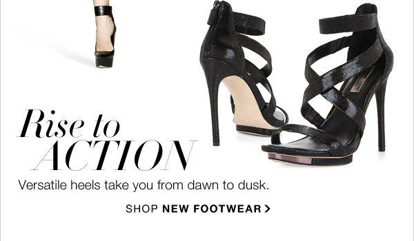 SHOP NEW FOOTWEAR