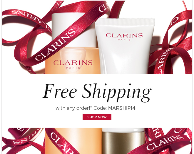 Free Shipping with any order!* Code: MARSHIP14 Shop Now>