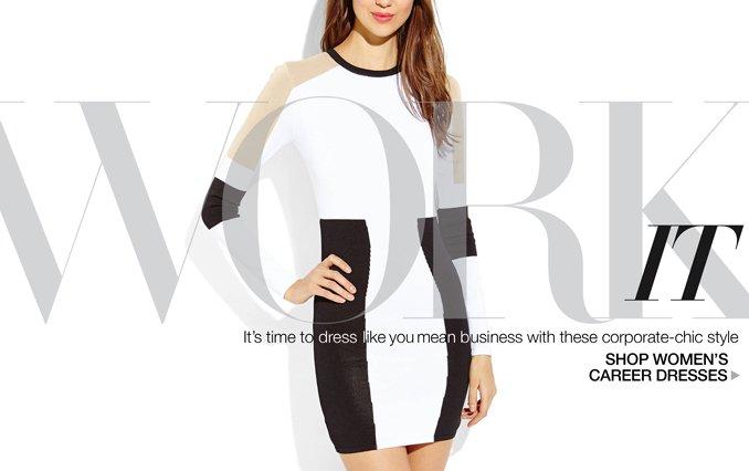 Shop Career Dresses for Women