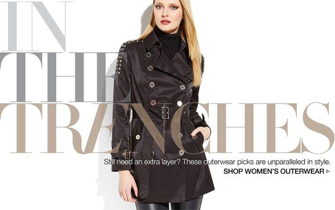 Shop Trench Coats - Ladies.