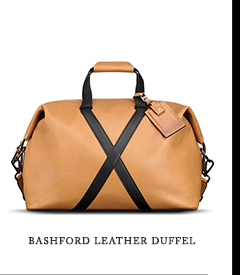 Bashford Leather Duffel - Shop Eric's Travel Picks
