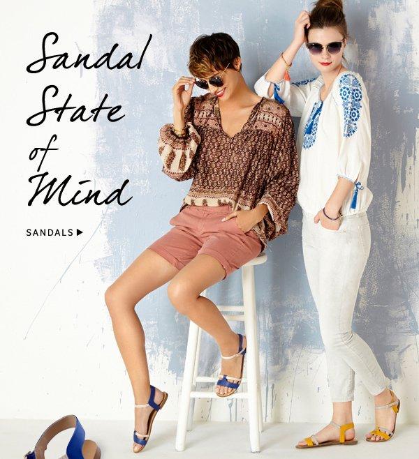 Sandal State on the Mind: Shop Sandals