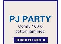 PJ PARTY   TODDLER GIRL