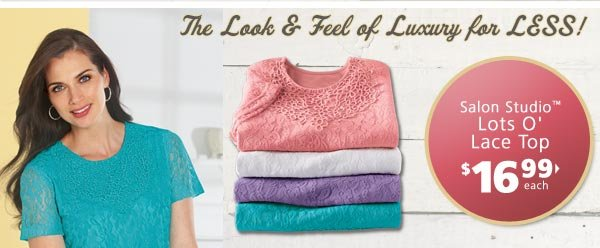 Shop Lots O' Lace Tops