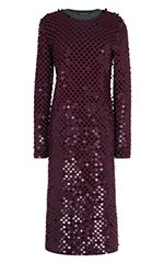 Lambswool Sequined Dress