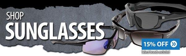 Shop 15% off select sunglasses