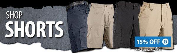 Shop 15% off select shorts
