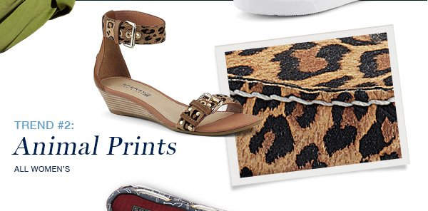 WOMEN'S ANIMAL PRINTS