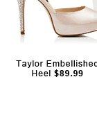 Taylor Embellished Heel