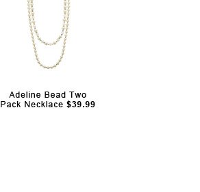 Adeline Bead Two Pack Necklace