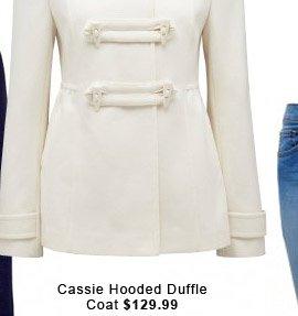 Cassie Hooded Duffle Coat