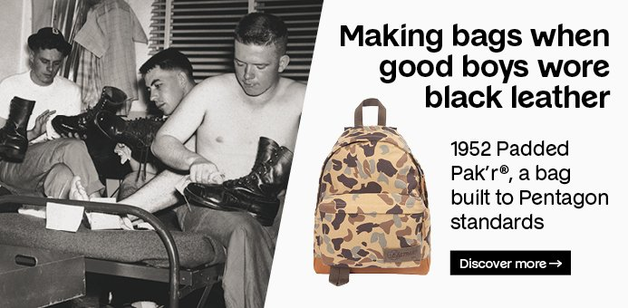 Making bags when good boys wore black leather