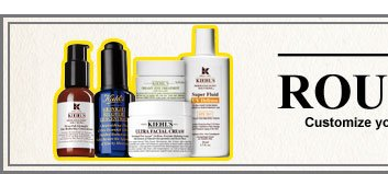 HEALTHY SKIN | ROUTINE FINDER | Customize your healthy skincare routine in a few easy steps. | START