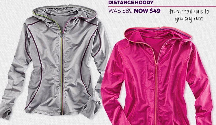 Today's WOW: Distance Hoody >
