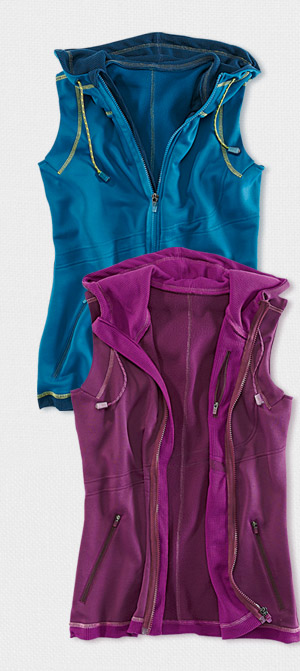 Today's WOW: Hybrid Hoody Vest >