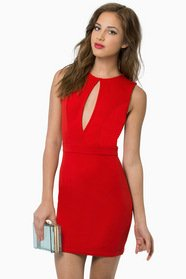 Vix Cutout Bodycon Dress $37