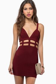 Venetian Bodycon Dress $50
