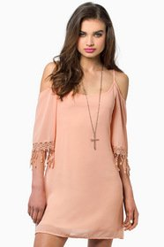 My My Open Shoulder Dress $37