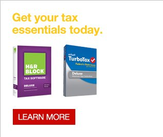 Get your tax essentials today. Learn more.