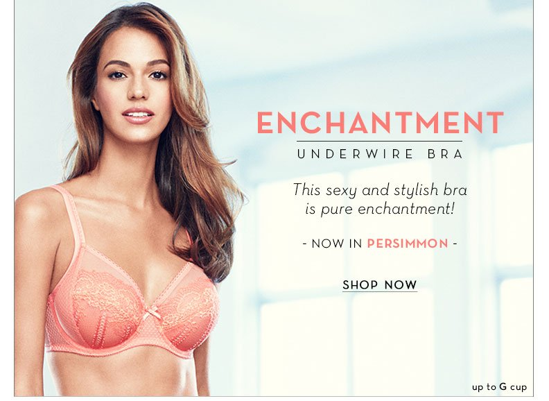 Enchantment Underwire Bra - Now in a New Color! Up to G Cup