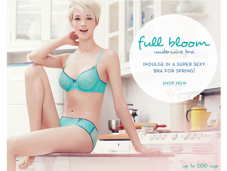 Full Bloom Underwire Bra - Now in a New Color!