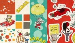 Camelot Fabrics Babar