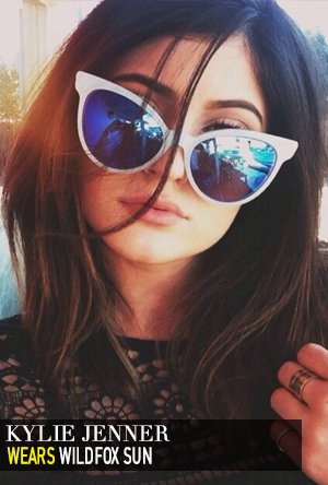 Kylie Jenner in Wildfox Sun