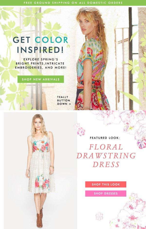 Get Color Inspired! Shop New Arrivals