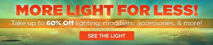 Adorama - More Light For Less!