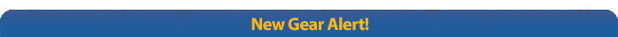 New Gear Alert!