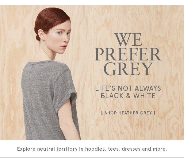 Shop Heather Grey