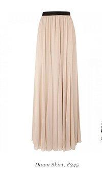 Dawn Skirt, £345