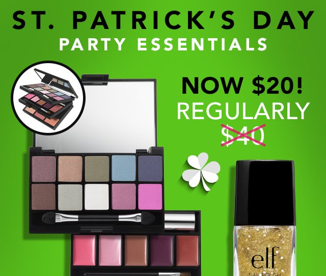 St. Patrick's Day Party Essentials Now $20! 50% Savings