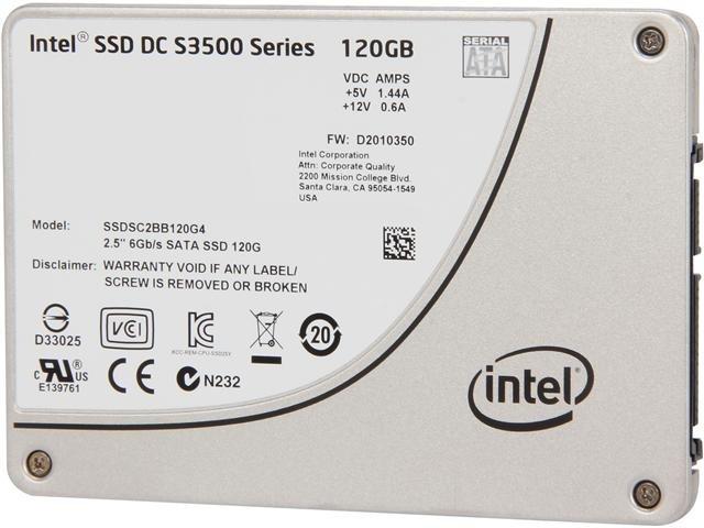 Intel DC S3500  Series SSDSC2BB120G401 2.5