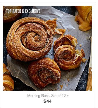 TOP RATED & EXCLUSIVE - Morning Buns, Set of 12 - $44