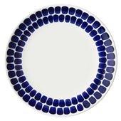 24h Tuokio Plate, Cobalt Blue