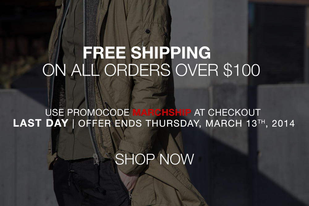 LAST DAY | Free Shipping on Orders Over $100