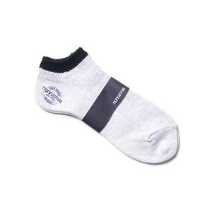nonnative Driver Socks Lo - C/P Mix Woven White