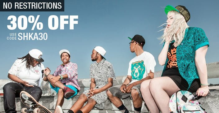 Mishka 30% Off No Restrictions