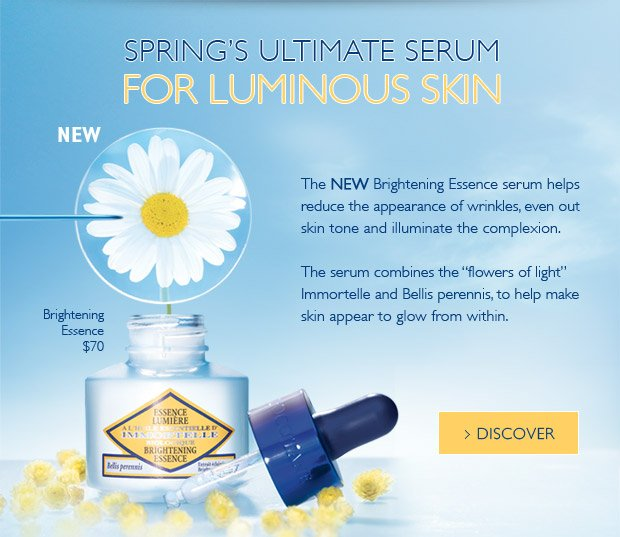 Discover Brightening Essence serum