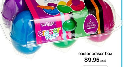 easter eraser box $9.95aud shop now >