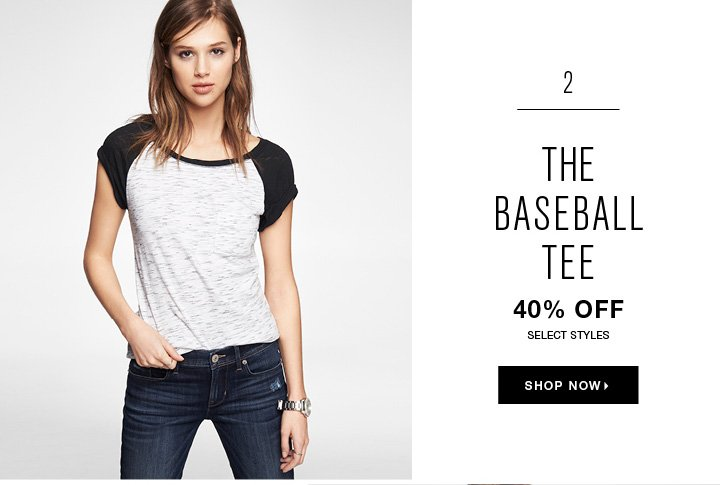 Shop the Baseball Tee