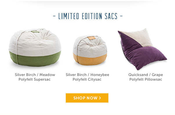 Limited Edition Sacs - Shop Now!