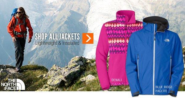 Shop All Lightweight & Insulated Jackets