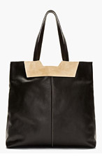 PROENZA SCHOULER Black Leather & Suede Tote Bag for women